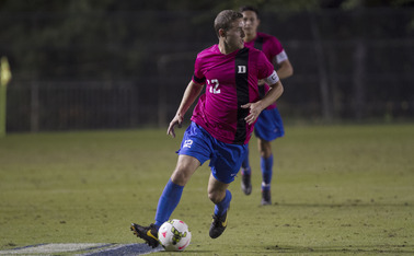 Senior Jake Butwin notched the first goal of his career in Friday's 2-1 victory against Pittsburgh.