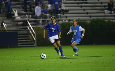 Gilda Doria will not play this season after tearing her ACL last spring, but will still serve as one of Duke's three captains.