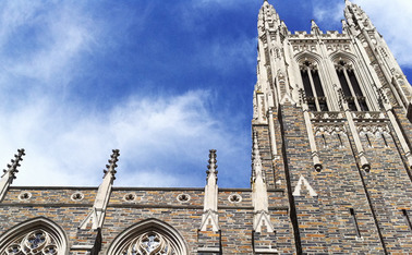 Students at the Duke Divinity School learn how to be preachers and professors, taking both professional and theoretical approaches to theology.