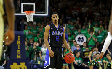 Point guard Quinn Cook scored 22 points, but Duke was upset on the road, falling to Notre Dame 79-77 in its first ACC contest of the season.