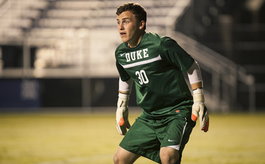 Freshman Joe Ohaus recorded his second shutout in as many matches as the Blue Devils took down Appalachian State 2-0 Tuesday night, improving to 3-1 in their last four matches and 5-0-1 on the season at Koskinen Stadium.