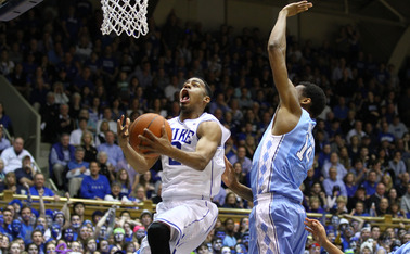 A beautiful up-and-under move by Quinn Cook helped Duke extend its lead during a game-changing run.