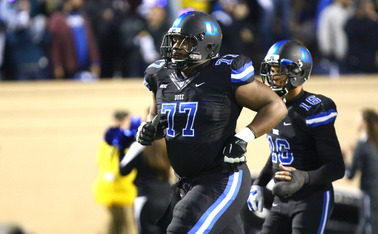 Many draft experts have projected guard Laken Tomlinson to go as high as the late first round in the 2015 NFL Draft.