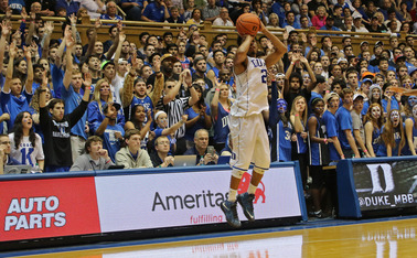 Senior Quinn Cook has become a fan favorite in his four years at Duke and holds a 63-4 overall record at Cameron Indoor Stadium.