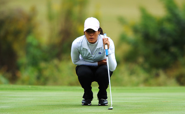 Junior Celine Boutier used a strong showing in the final round of the Evian Championship to make up for a shaky third round and finish tied for 29th.