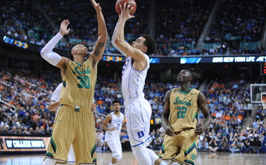 Tyus Jones had 10 points but couldn't lead the Blue Devils back down the stretch.