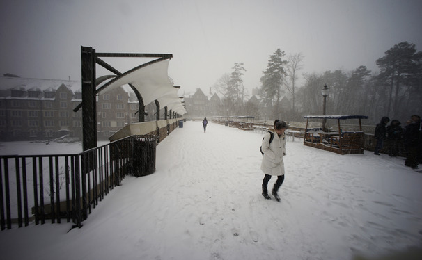 Duke's severe weather policy extended to 5 p.m. Friday, canceling classes for all of tomorrow.