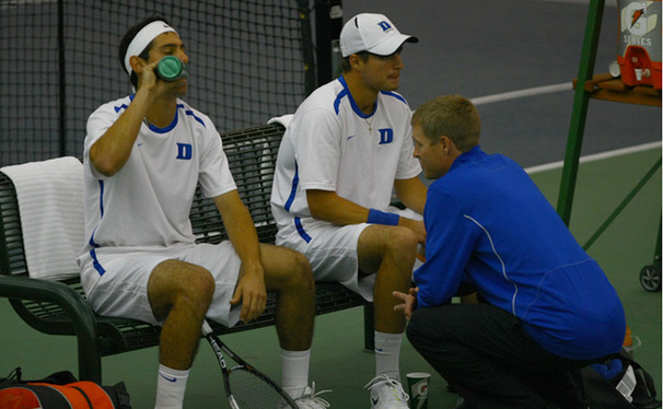 Head coach Ramsey Smith is the first person in program history to win 100 singles matches and 100 doubles matches  and 100 matches as a coach in program history.