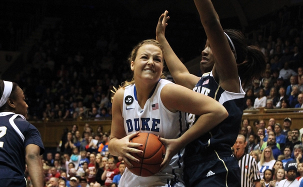 Senior Tricia Liston scored 23 points in a losing effort as the Blue Devils fell to No. 2 Notre Dame.