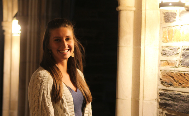 Sophomore Sarah Stanczyk chose to stay at Duke this semester while undergoing chemotherapy.