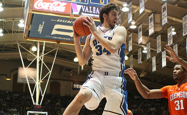 Ryan Kelly is sidelined indefinitely with an injury to his right foot that he aggravated in Duke's 68-40 victory against Clemson Tuesday.