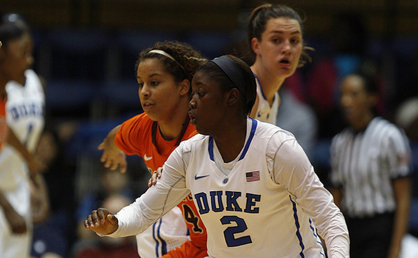 Freshman Alexis Jones was a bright spot in the team's loss to Connecticut, recording a season-high 14 points.