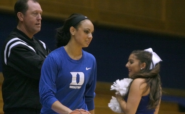 Freshman Kianna Holland will transfer from Duke. She never saw game action for the Blue Devils after spending her first semester recovering from a leg injury.