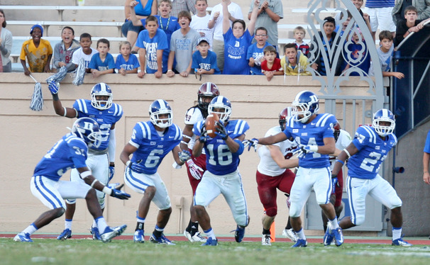 In addition to recording 14 tackles, Duke safety Jeremy Cash nabbed the first interception of his collegiate career against Troy.