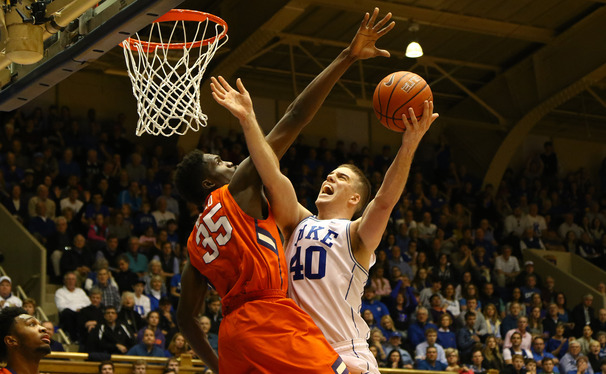 Redshirt junior Marshall Plumlee came off the bench to spell Jahlil Okafor all season, helping Duke to its fifth national title along the way.