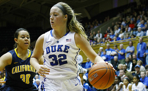 Tricia Liston led Duke against the Golden Bears with 22 points on 9-of-16 shooting from the field.