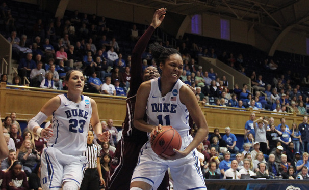Azura Stevens had another big weekend to push her team into the Sweet 16.