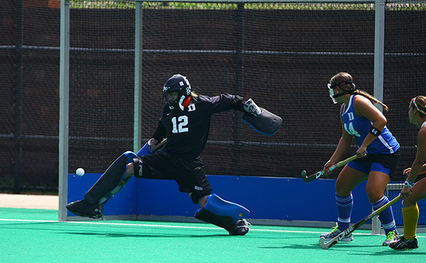 Goalkeeper Lauren Blazing was one of six players that Duke lost for a crucial 12-day stretch during last year's Pan-American Games.