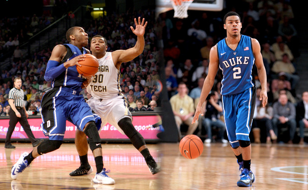Rasheed Sulaimon and Quinn Cook have split the starting spot in the last eight games, and Duke has benefitted from keeping opponents guessing.