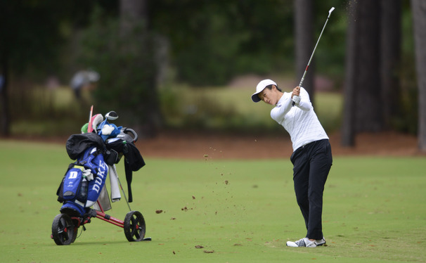Yu Liu will be one of three freshmen in Duke's lineup for this weekend's Landfall Invitational.