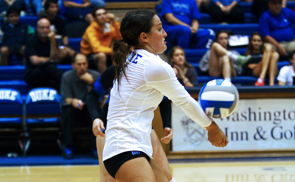 After setting Duke's all-time digs record last weekend, senior libero Ali McCurdy will lead the Blue Devils into a pivotal weekend stretch.