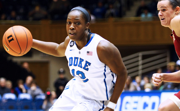 Head coach Joanne P. McCallie ranked Chelsea Gray among the most prolific passers in Duke's history.