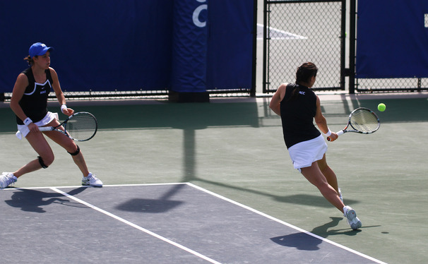 Duke dominated in doubles play throughout the regular season, but dropped the doubles point in each of its two final regular-season matches, both of which were losses.