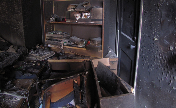 University insurance does not cover damaged personal property. Many students were surprised by this fact following the Brown Dormitory fire.