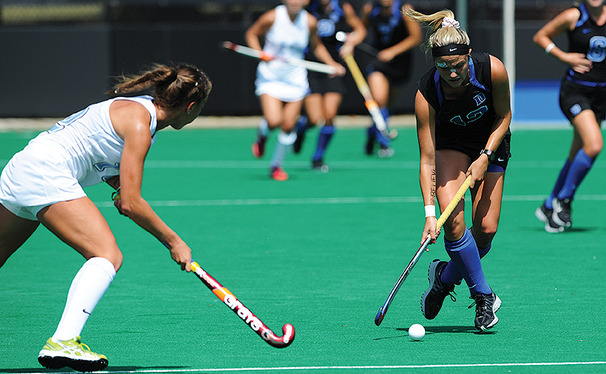 Junior forward Jessica Buttinger scored the decisive goal in Duke's 1-0 win against Old Dominion.