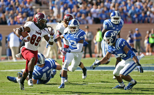 Despite a poor performance early, Duke's defense pulled it together to hold off Troy and secure a Homecoming victory.
