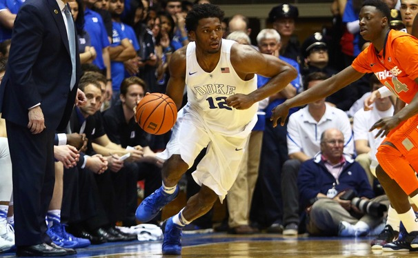 Swingman Justise Winslow continued his late-season push to spark two more Blue Devil wins last week.