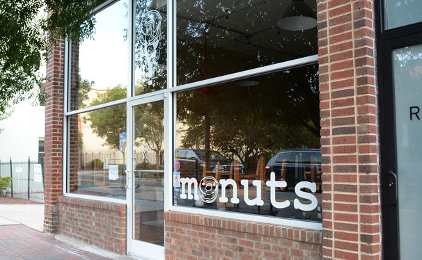 Monuts began as a shop on the back of a tricycle and is now the small storefront on East Parrish Street pictured above, but space limitations and high demand are causing the cafe to move.