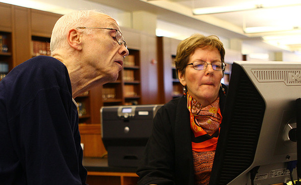 Librarians have seen their role change over the years as students move toward the Internet to find answers