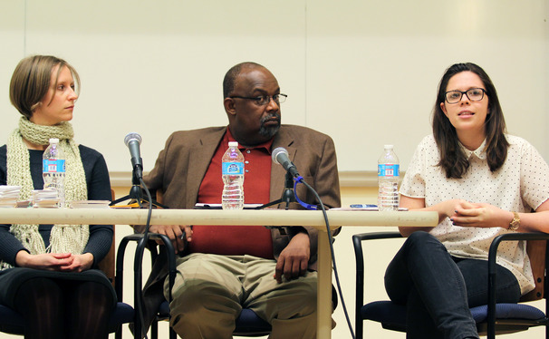 "A panel discussion was held with Duke faculty and students after the screening of  ""Section 5."""