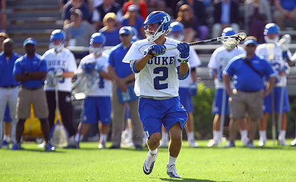 David Lawson scored a career-high five goals to lead Duke past Notre Dame.