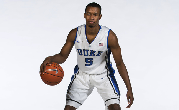 As a leader in Duke's locker room, Rodney Hood's style mirrors his play on the court—silent, yet effective.