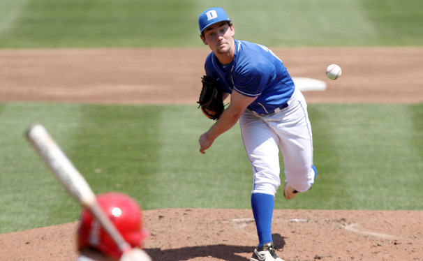 Duke's pitching has been solid in road games this season, but woes at the plate have left the Blue Devils searching for answers.