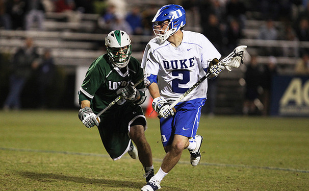 Unlike High Point, the Blue Devils rely on its experienced upperclassmen like senior David Lawson.