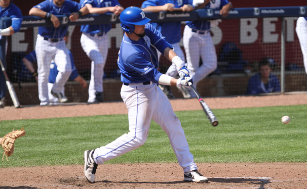Duke third baseman Jordan Betts and the rest of the senior class were able to close their home career with a win against Richmond.