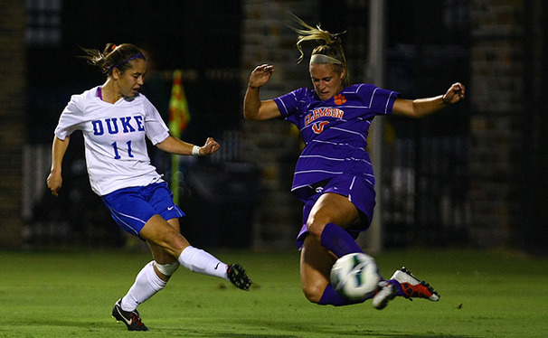 After moving to 2-1-1 in ACC play against Clemson Thursday, the Blue Devils face a tough test against No. 3 Virginia Sunday.