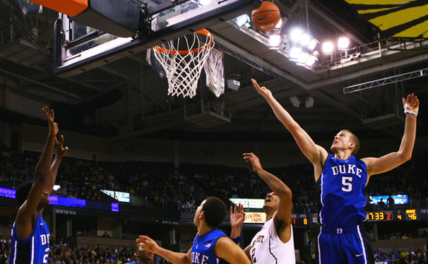 Senior Mason Plumlee is coming off a career-high 32 points against Wake Forest.