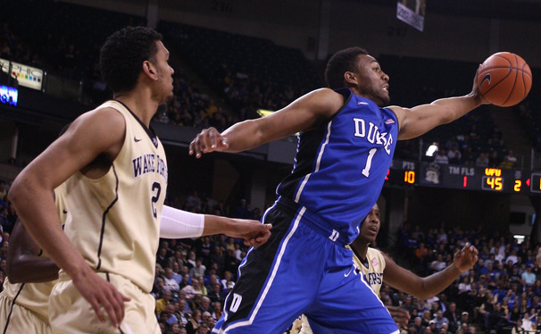 "Jabari Parker said he accepted responsibility for his team's loss because he ""can't say [he's] a freshman no more."""