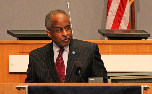 Mayor Bill Bell discussed his vision for Durham is he were to be reelected Tuesday.