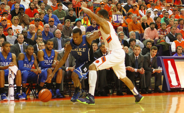 Clemson's defense was able to push the Blue Devils around and hold Duke without a field goal for the final 6:23 of Saturday's road loss.