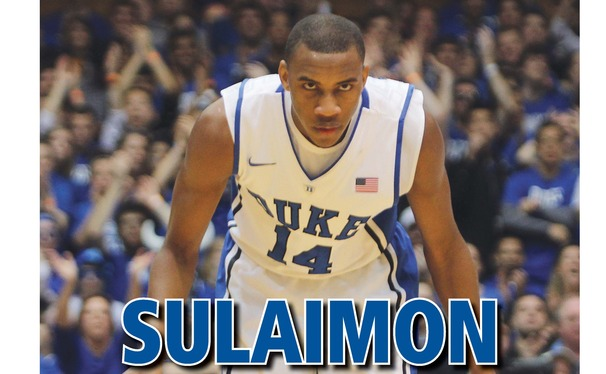 One of the hot topics for the Blue Devils who addressed the media was the recent struggles of Rasheed Sulaimon. (Photo Credit: Ella Banka/The Chronicle).