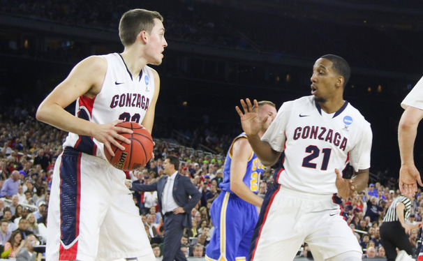 Gonzaga's Kyle Wiltjer can stretch the floor at 6-foot-10, drawing comparisons to former Duke standout Ryan Kelly.