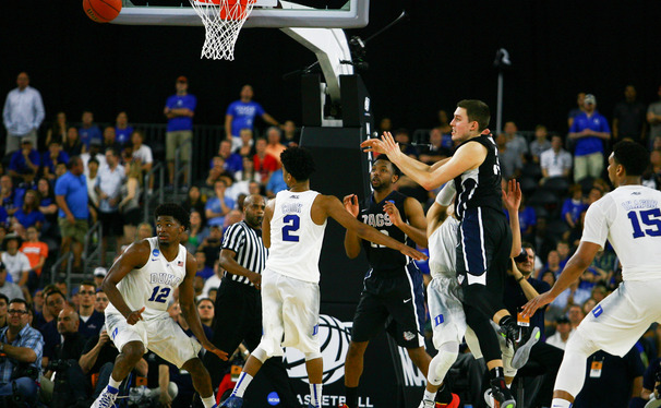 Gonzaga's Kyle Wiltjer missed a wide-open layup that could have changed the complexion of Duke's Elite Eight win.