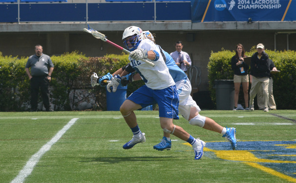 Second Team All-American Myles Jones will lead the Blue Devil attack against Denver in the semifinals Saturday.