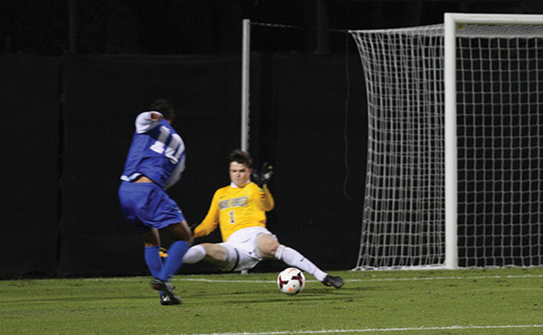 Sophomore Luis Rendon scored the equalizer for Duke as the Blue Devils needed a late rally to tie Wake Forest 2-2.