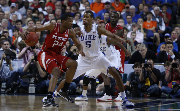 N.C. State's T.J. Warren started out hot, but Duke was ultimately able to limit the ACC Player of the Year to 21 points on 22 shots.